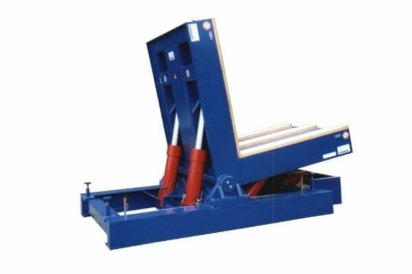 Hydraulic tilting tables