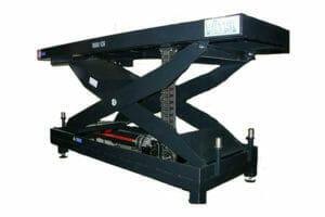 Mechanically driven lifting tables