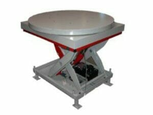 Lifting and turning table
