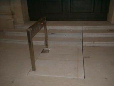 Foto Hubtreppen Außenbereich