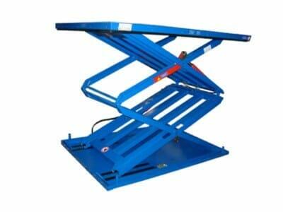 Figure Flat stroke table in blue