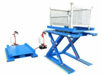 Figure Flat stroke tables in blue
