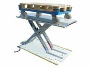 Flat lifting table