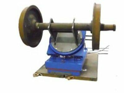 Abbildung Hydraulik-Hub-Kipptisch mit Gewicht