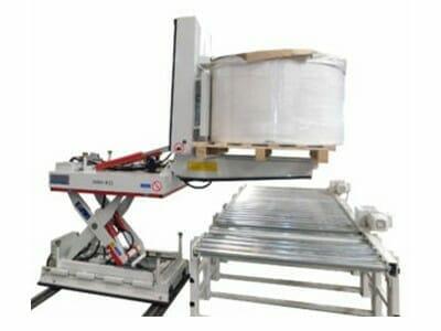 Abbildung Hydraulik-Hub-Kipptisch ausgefahren