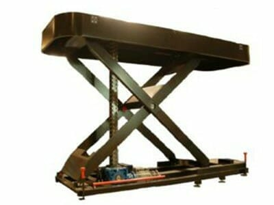 Illustration of mechanically driven lifting table