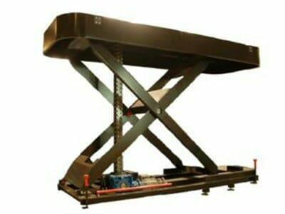 Abbildung mechanisch angetriebener Hubtisch