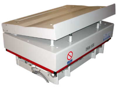Abbildung Papier und Kunststoff Coiltransporter in weiß