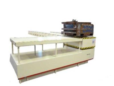 Abbildung Papier und Kunststoff Coiltransporter mit Fracht