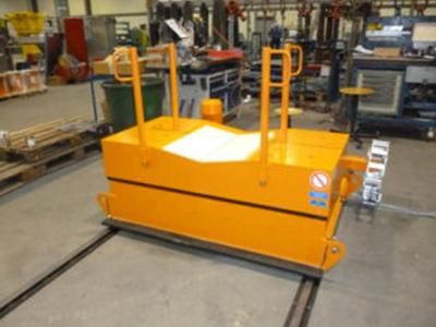 Coil-Transportfahrzeug für Aluminium