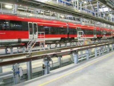 Spoorsysteem met spoorbruggen volgens DB-goedkeuring
