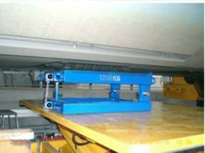 Foto Drehgestell-Wechselanlage