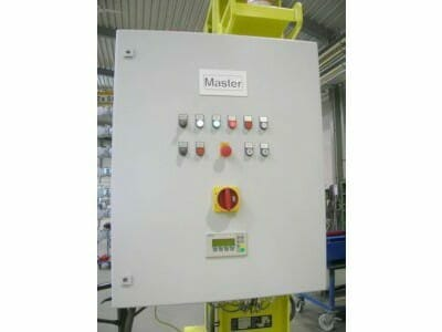 Master control cabinet with safety PLC