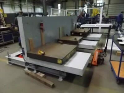 Various hydraulic tilting tables