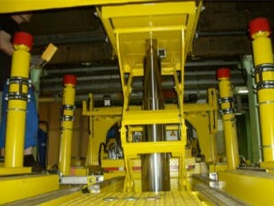 Detail Telescopic lifting cylinder