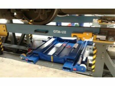 mobile wheelset changer