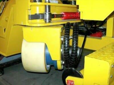 Stuuraandrijving 90° en niet-krijtvulcollanbanden