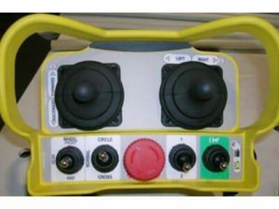 Radio afstandsbediening voor alle bewegingen