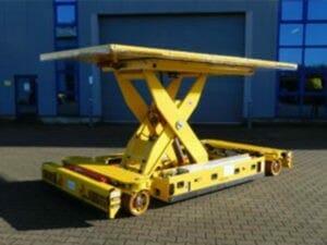 Schwerlasttransportfahrzeuge kleiner als 10 Tonnen