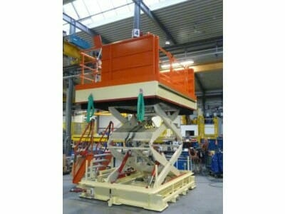 Stationaire hydraulische hoogwerkers