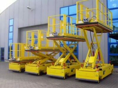 Various movable lifting platforms