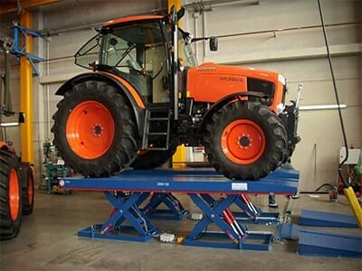 Photo Vehicle lifting platform