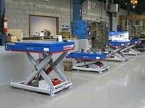 Diverse hydraulische naafdraaiende tafels