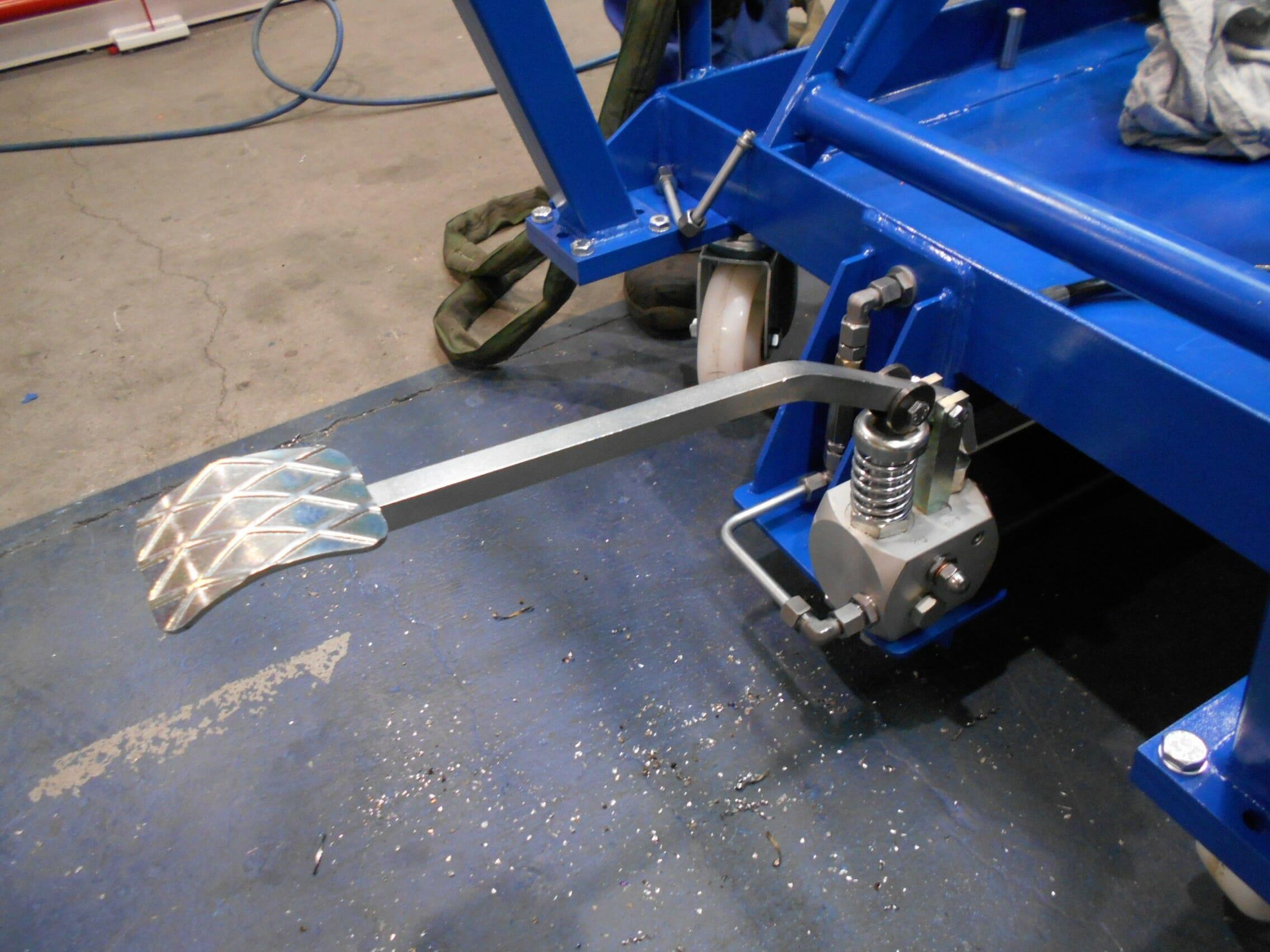 Abbildung Scherenhubwagen Kupplung