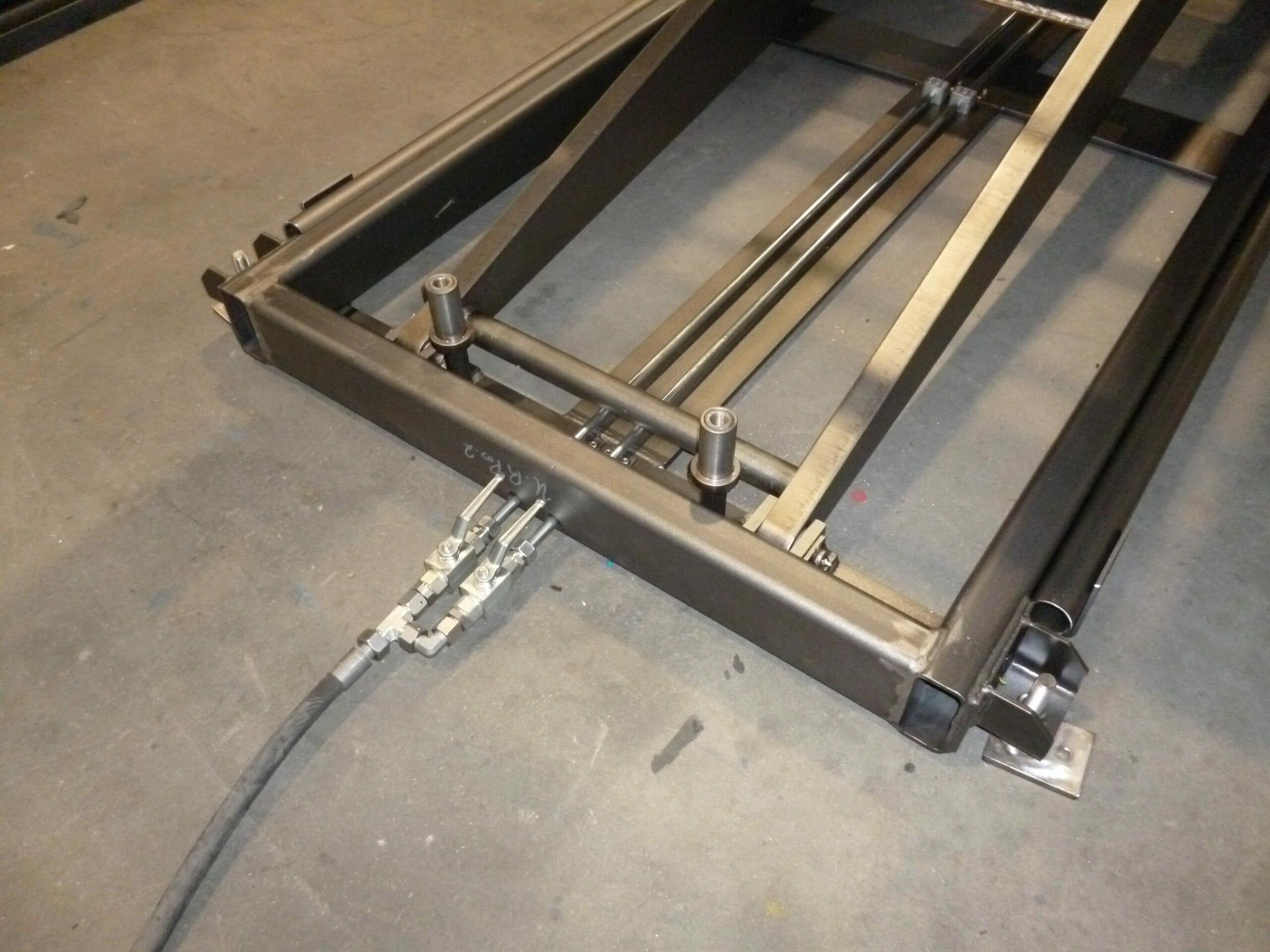 Foto Heißbereichs-Hubtische Hydraulik