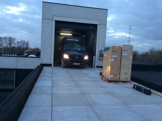 Figure Cargo lift for cars