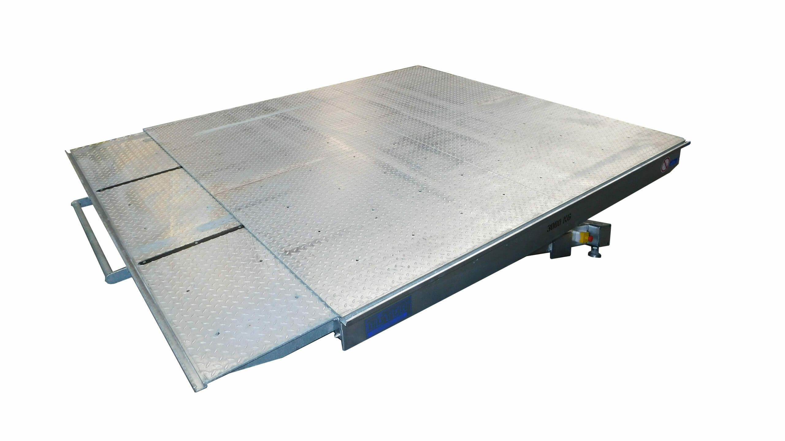 Figure Hydraulic tilting tables with ramp