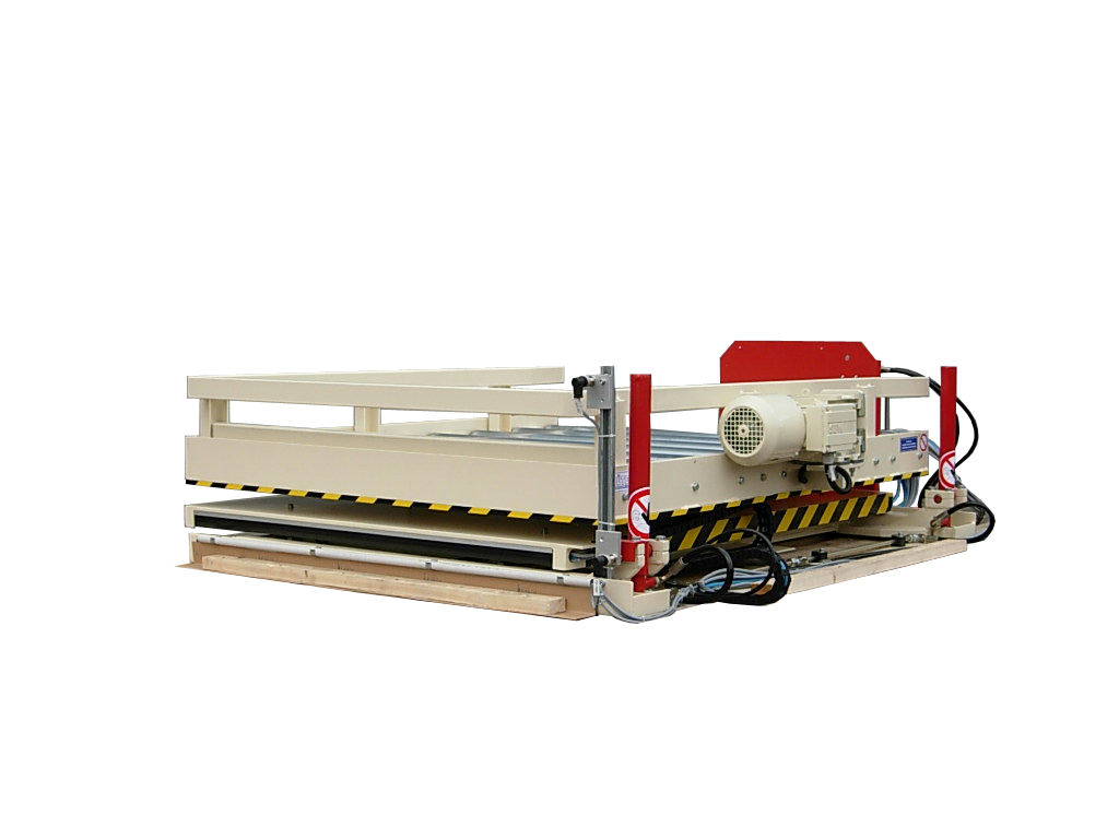 Figure Flat lifting table retracted