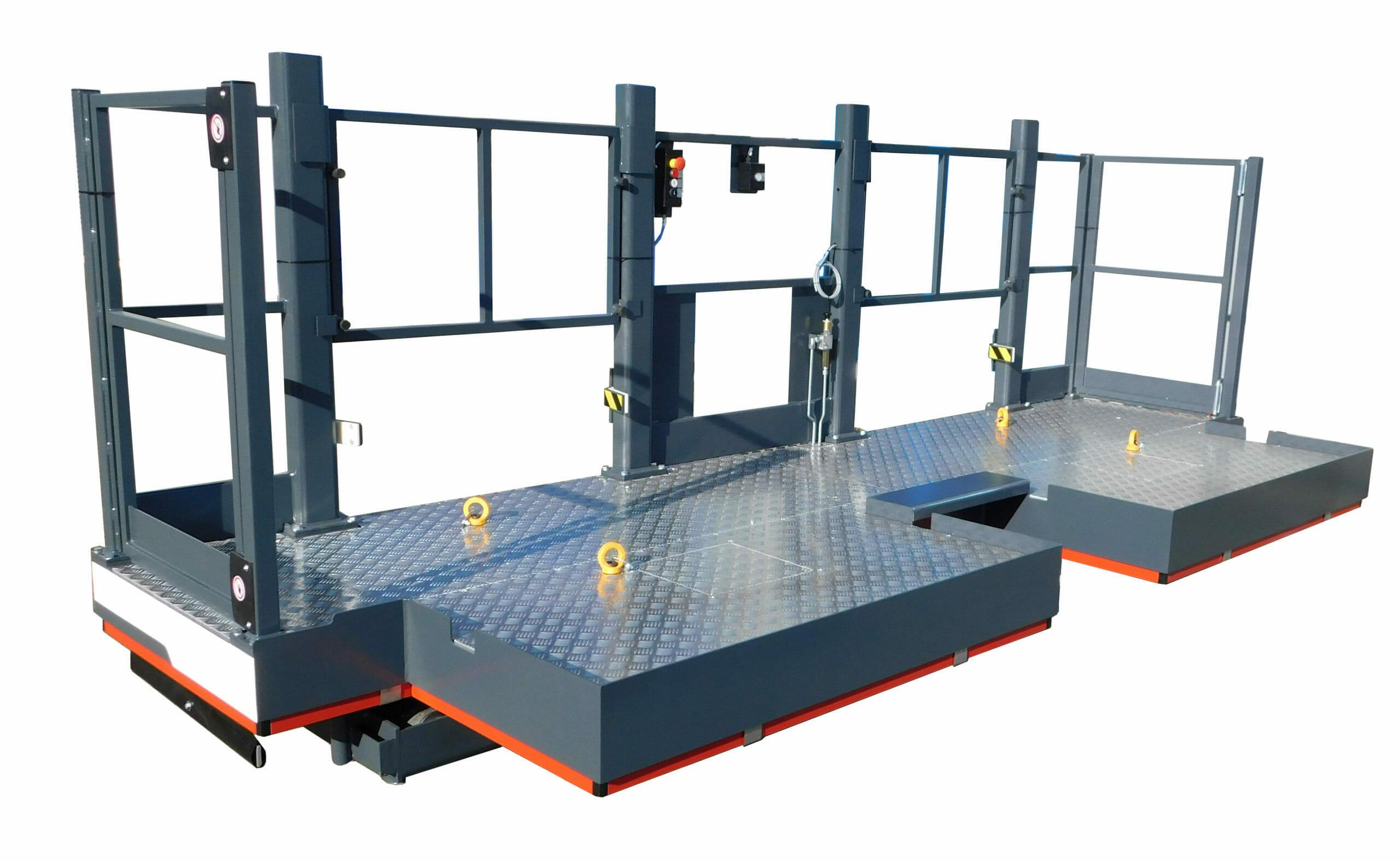 Figure Stationary work platform