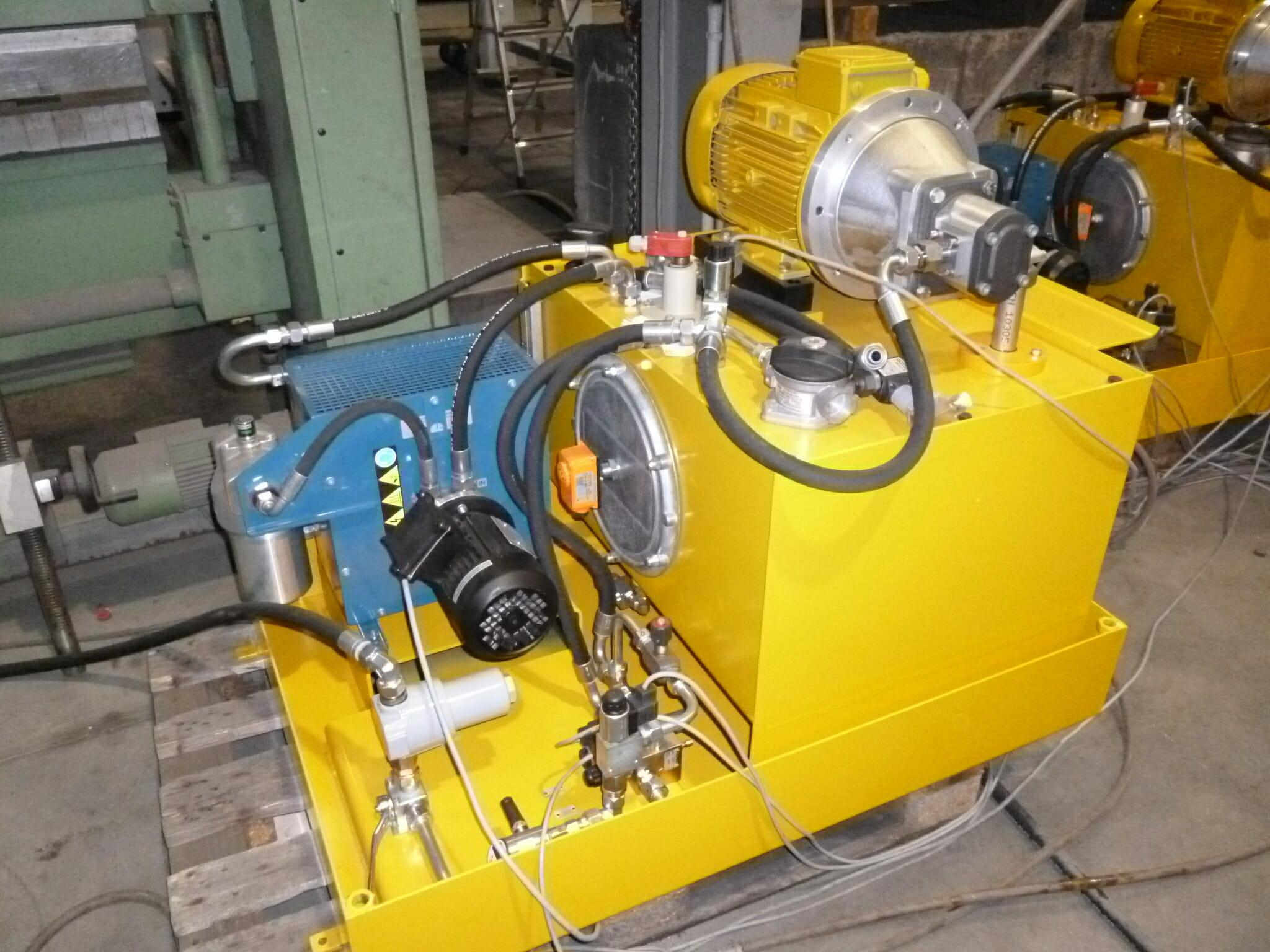 Hydraulikaggregat mit Ölkühler