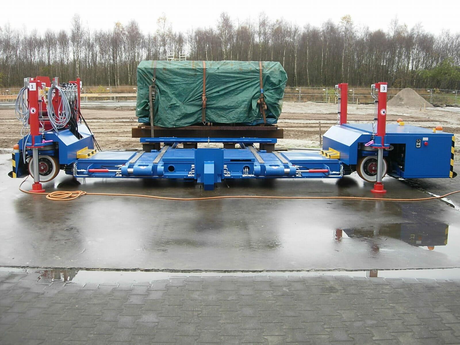 Schwerlasttransporter Sonderfahrzeuge im Einsatz